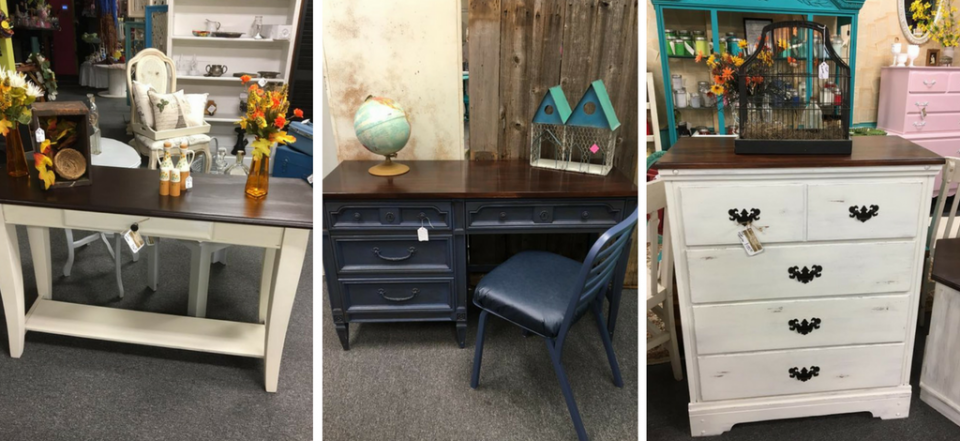 It is our passion to give furniture new life through repurposing, repainting, and reusing!